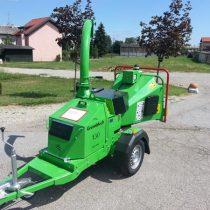 Demo stroj GreenMech Arborist 130