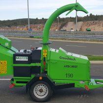 Demo stroj GreenMech Arborist 190